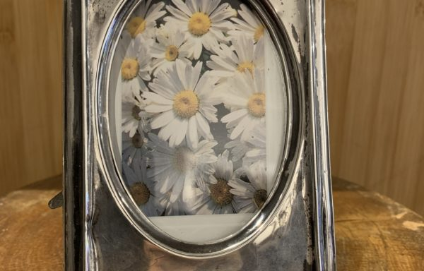 hallmarked 1912 art nouveau silver photo frame