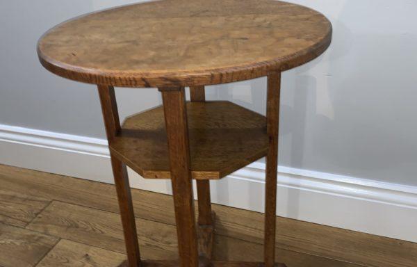 Heals of London Oak side table  for sale